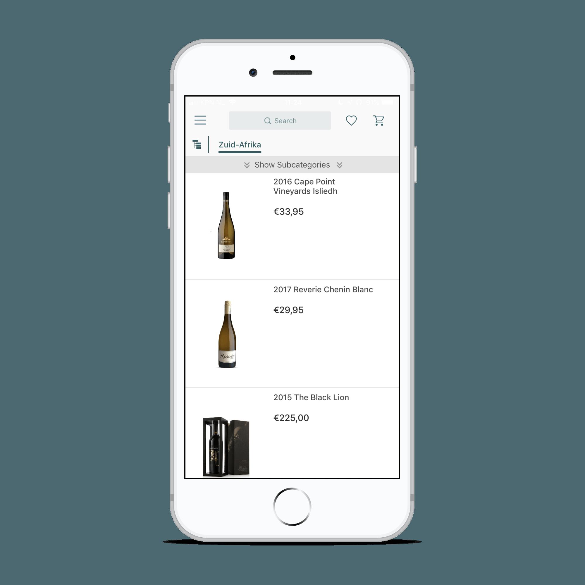 Unique Wines - Wijnkoperij De Lange wijnen