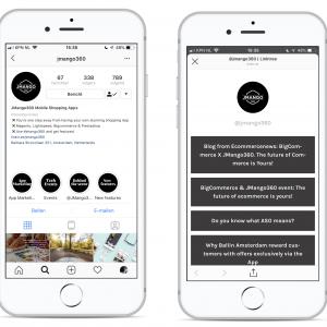 Mobile Shopping Instagram Shopping Linktree