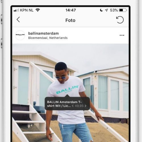 Instagram Shopping Products in feed