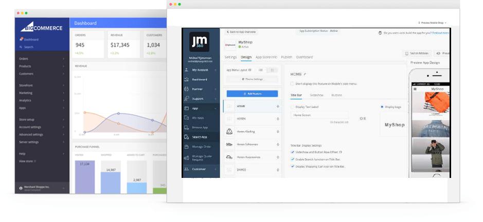 bigcommerce mobile app integration jmango360
