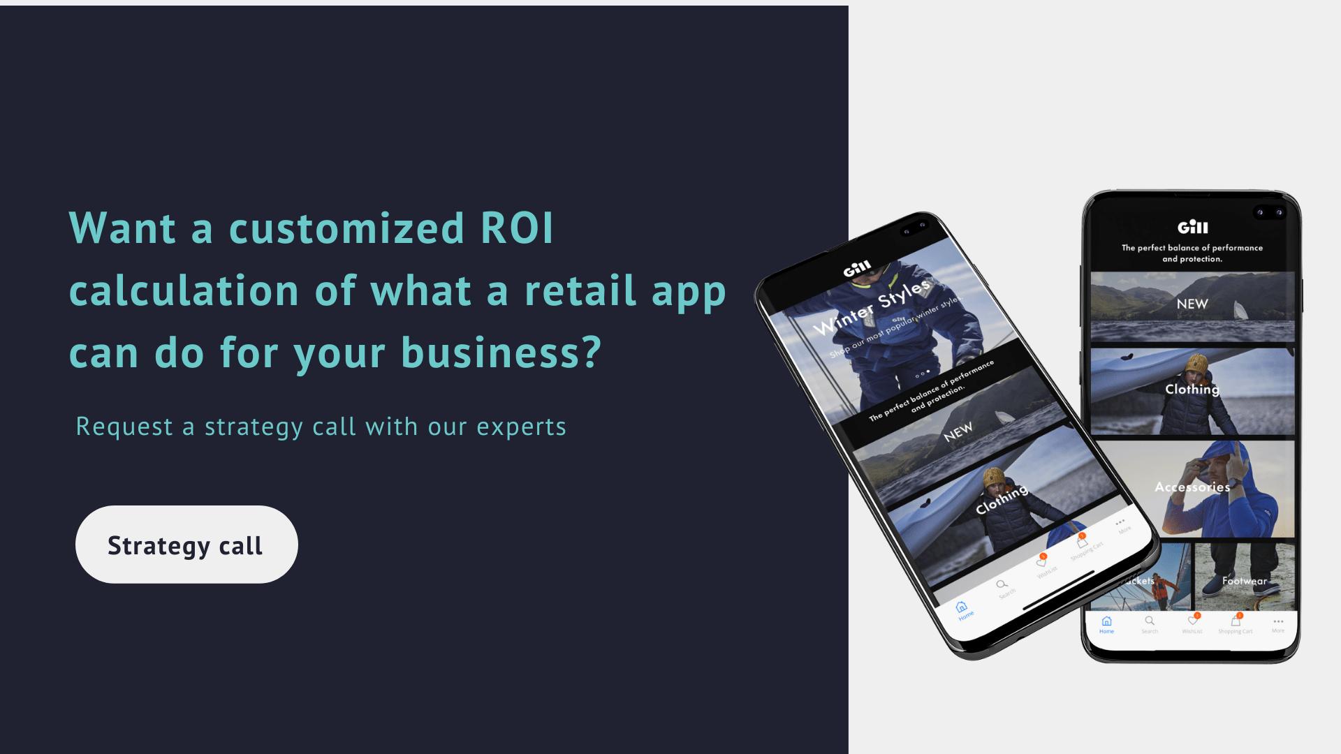 ROI retail app calculation